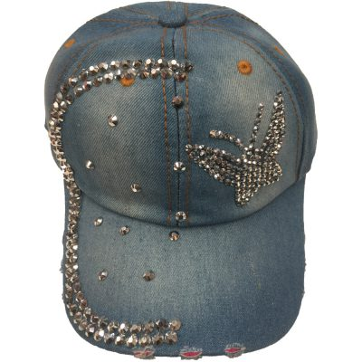 "Denim Hats  ""Butterfly""  #N201"