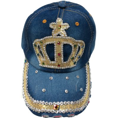 "Denim Hats  ""CROWN""  #N202-1"