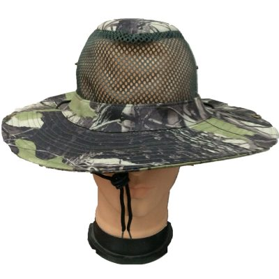 Mesh Cowboy Hats Camouflage  #A161