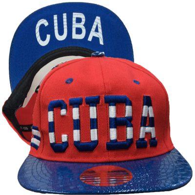"Snapback  ""CUBA""  #125XS"
