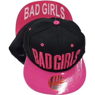 "Snapback ""BAD GIRL""  #202SS-1"
