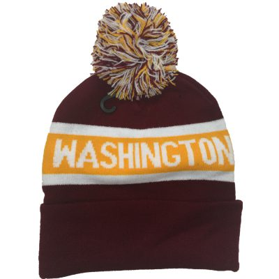 "Pom Pom Beanie ""WASHINGTON""  #R153Q"