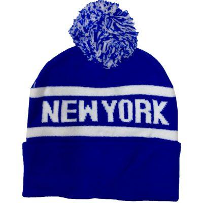 """Pom Pom  """"NEW YORK""""  #R158Q"""