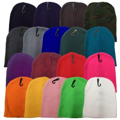 Solid Short Beanie Ass Colors(Dozen) #1MXDOZ