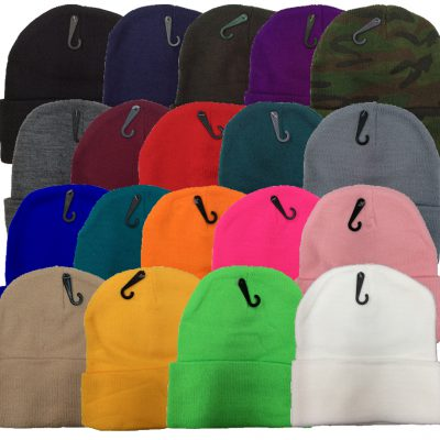 Knit Ski Hat Ass Colors(Dozen) #2MXDOZ