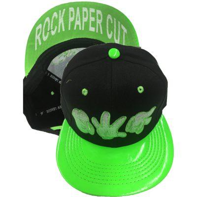 "Snapback  ""ROCK PAPER CUT"" #200SS"