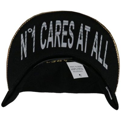 "Snapback  ""NO 1 CARES AT ALL"" #203SS"
