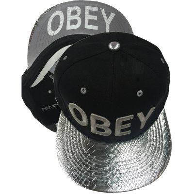 """Snapback  """"OBEY"""" #204SS"""