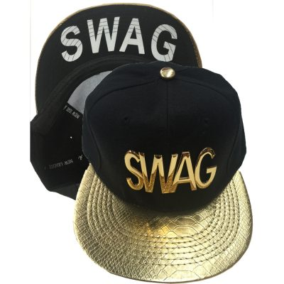 "Snapback Metal  ""SWAG""  #1019GS"