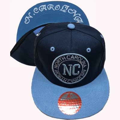 "Snapback ""NORTH CAROLINA  NC""  #184ST"