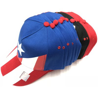 "Adjustable ""PUERTO RICO FLAG""CAP  #198W-2"