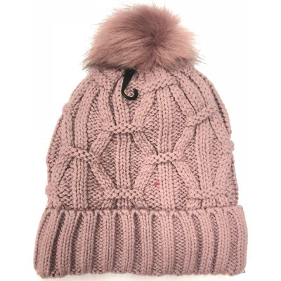 FurBall  Stripe Twist Ski hat #H180258