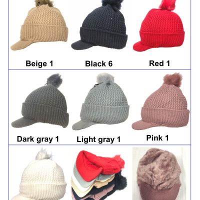 FurBall Heavy Twisted Ski Cap #H180263