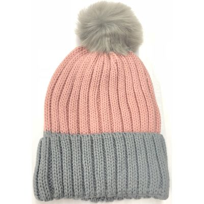 FurBall Two Tone Ski hat #H180271