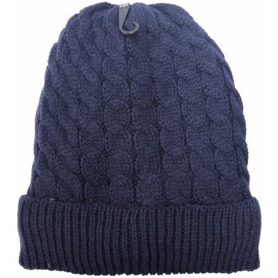 Plush Lining Twisted Ski hat #HL03232F2