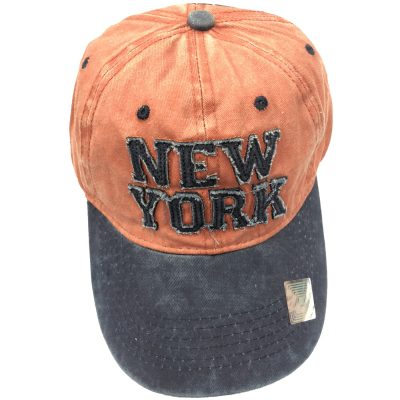 "100%Cotton ""NEW YORK"" Hats  #SX158"