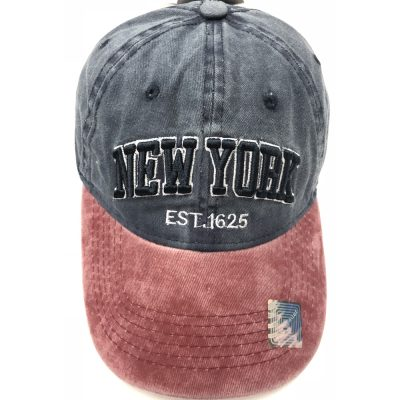 "100%Cotton ""NEW YORK"" Hats  #D18SX1625"