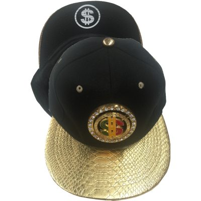 "Snapback Metal With Diamond  Spin ""$ "" #1076GS"